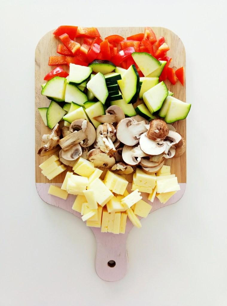 Veggie Filled Omelette| booksandlavender.com