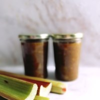 Rhubarb and Apple Jam