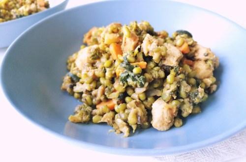 Chicken Mung Bean Stew | booksandlavender.com