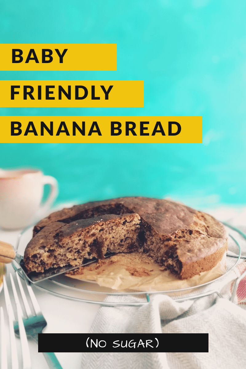 Baby-friendly Banana Bread | booksandlavender.com