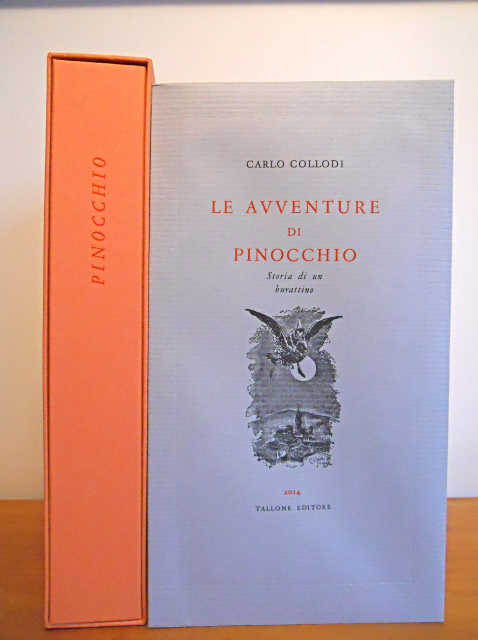 This is one of the copies of the series edition (the most numerous one); it was printed in 219 copies on paper produced at the San Giovanni Mill in Pescia (Tuscany); the sheets have a glittering finish due to the presence of mica mineral dust.