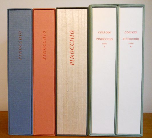 "An ""ensemble"" image of the editions."