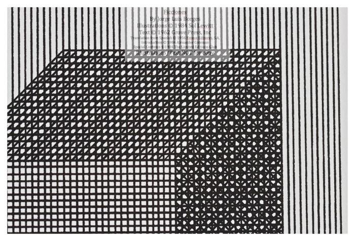 Ficciones, Limited Editions Club, Macro of Sample Illustration #2