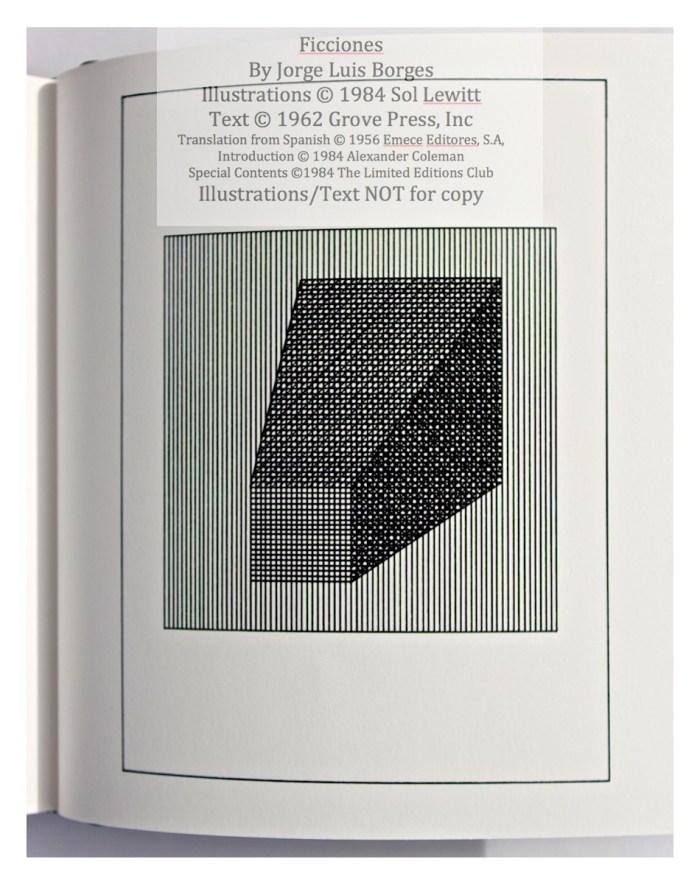 Ficciones, Limited Editions Club, Sample Illustration #3