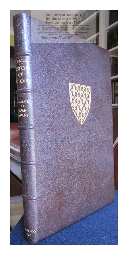 The History of Saint Louis, The Gregynog Press, Cover and Spine