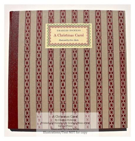 A Christmas Carol, Incline Press, Cover
