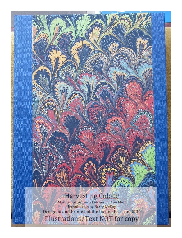 Harvesting Colour, Incline Press, Cover