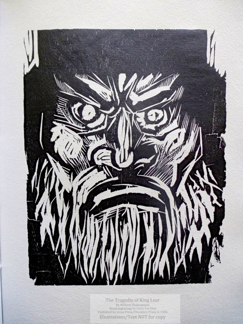 An agitated King Lear
