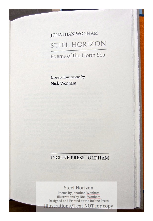 Steel Horizon, Incline Press, Title Page