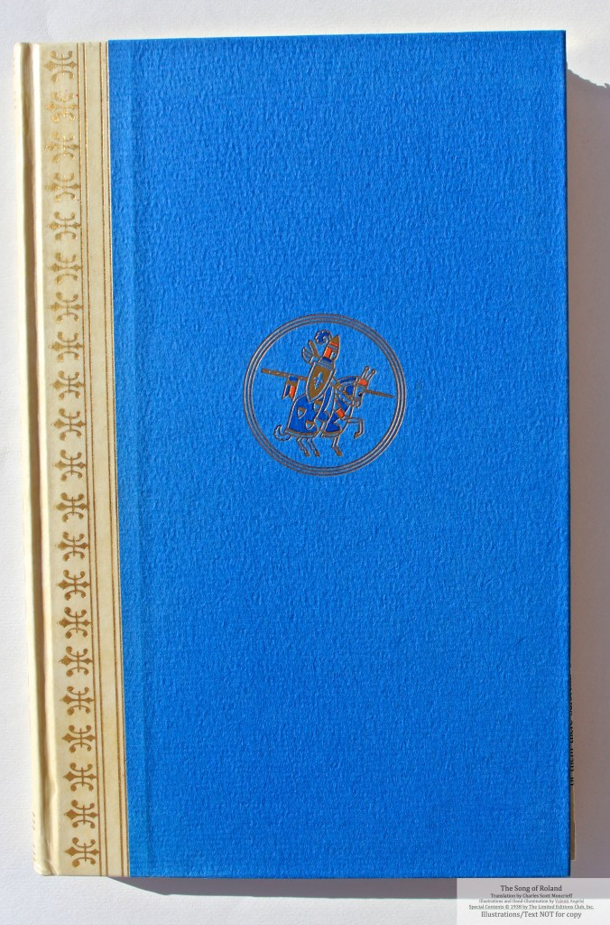 The Song of Roland, Limited Editions Club, Cover