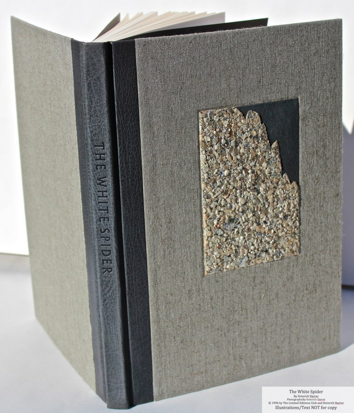 The White Spider, Limited Editions Club, Cover and Spine