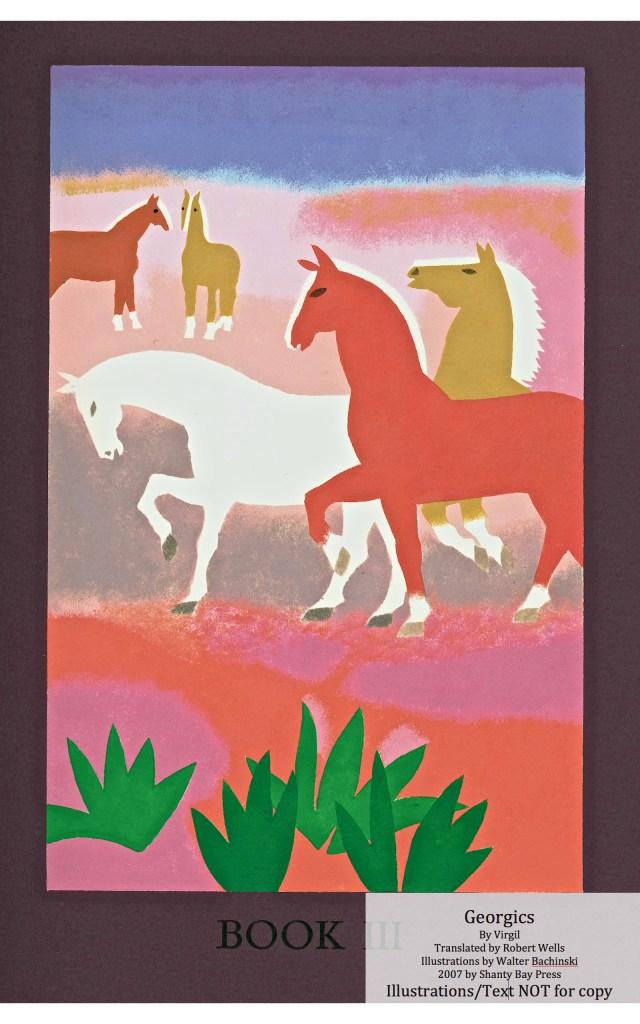 Georgics, Shanty Bay Press, Book Three Pochoir
