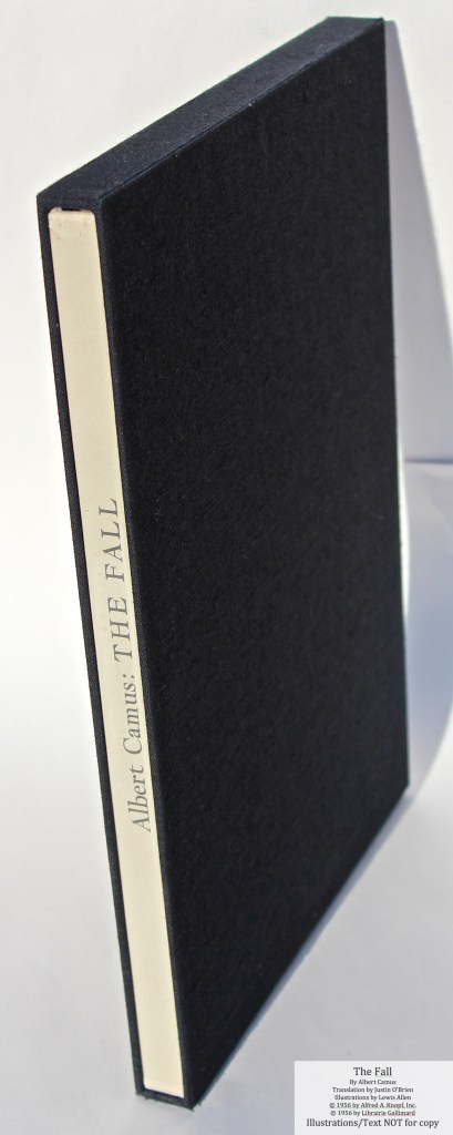The Fall, Allen Press, Book in Slipcase