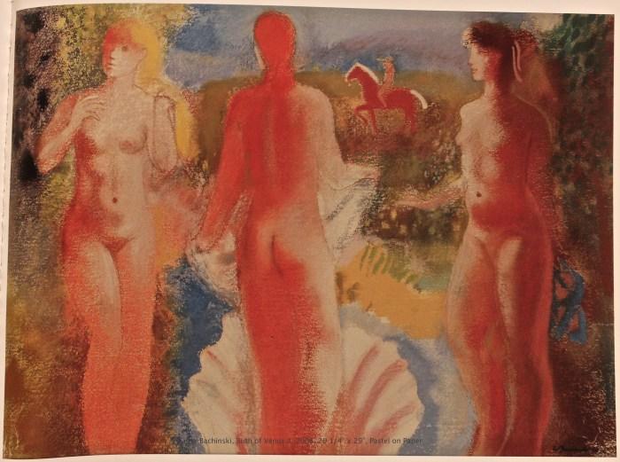 Birth of Venus II, Pastel on Paper
