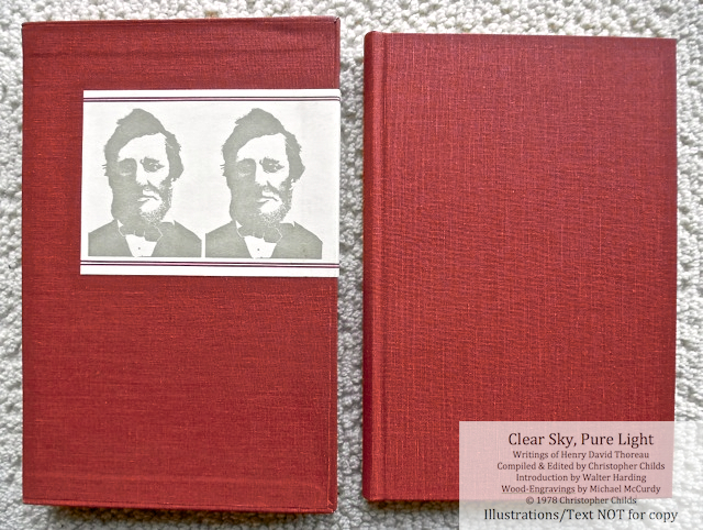 Clear Sky, Pure Light, The Penmaen Press, Book and Slipcase