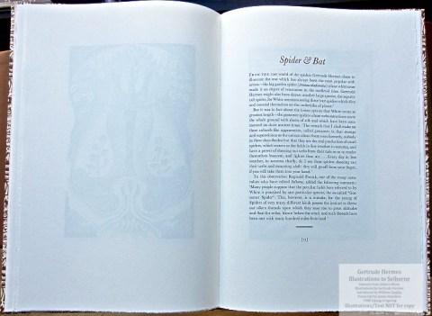 Gertrude Hermes 'Gregynog' Selborne, Gwasg Gregynog, Sample Text #3