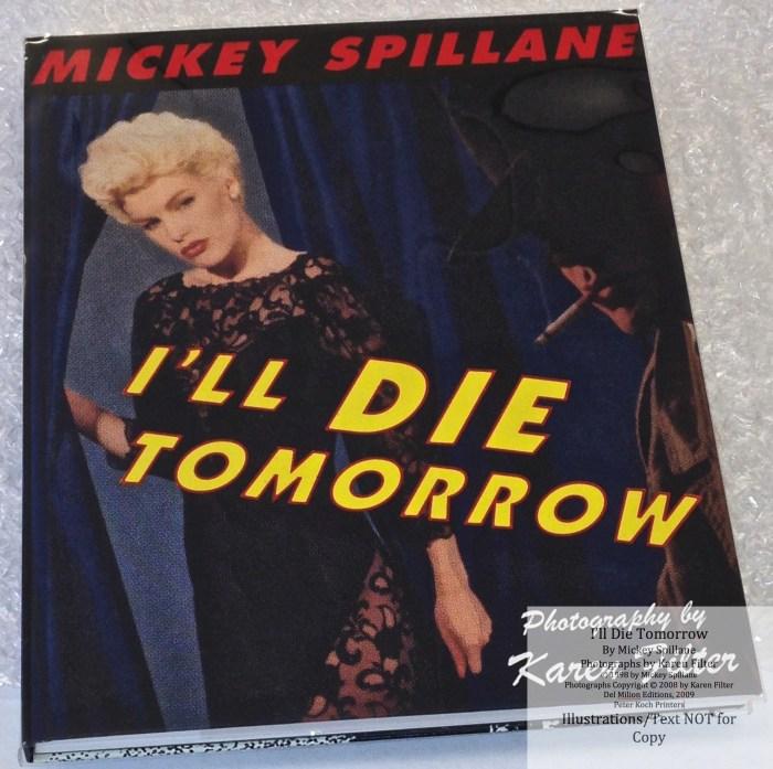 I'll Die Tomorrow, Peter Kock Printers, Cover