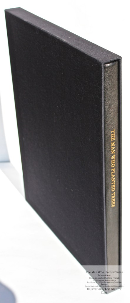 The Man Who Planted Trees, Limited Editions Club, Book in Slipcase