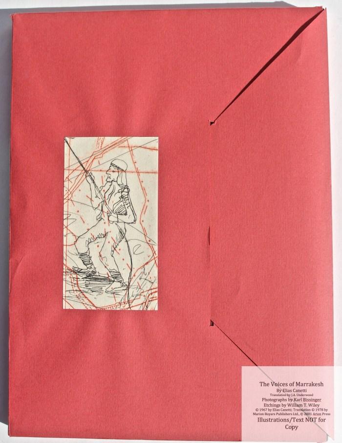The Voices of Marrakesh, Arion Press, Envelope Slipcase