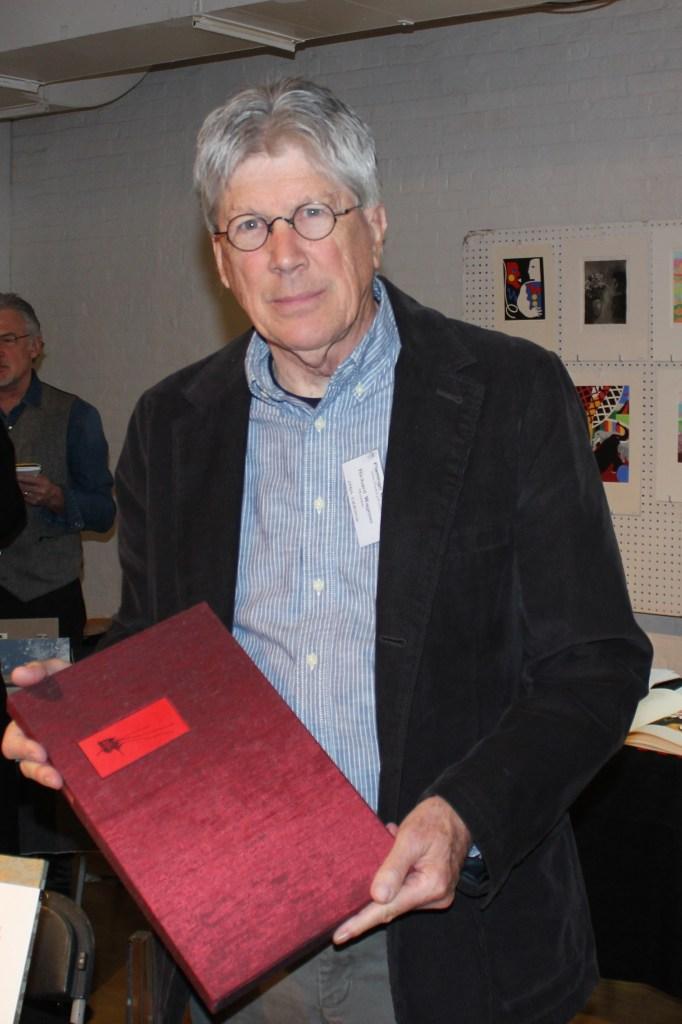 Richard Wagener holding LOOM