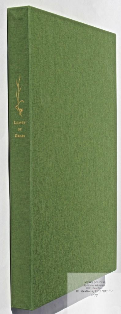 Leaves of Grass, Arion Press, Slipcase Spine