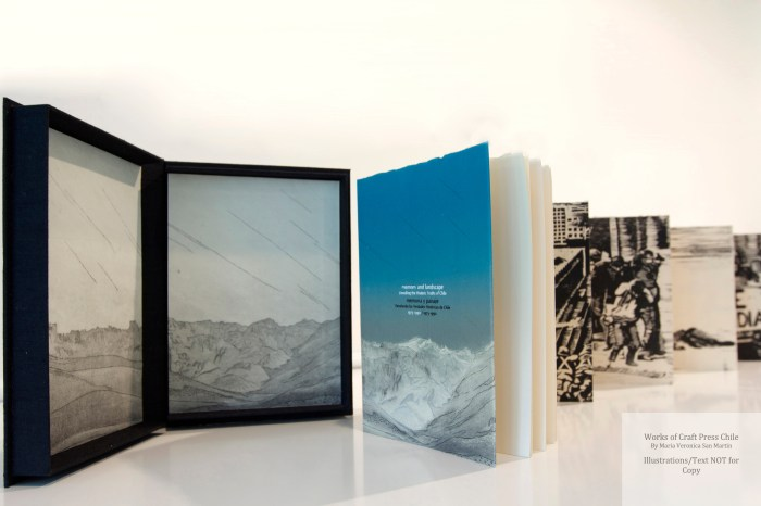 Memory and Landscape, Craft Press Chile, Sculptural View #1