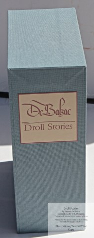 Droll Stories, Limited Editions Club, Slip Case (custom cloth, with original label)