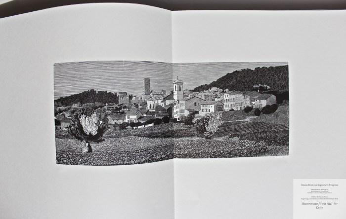 Simon Brett, an Engraver's Progress, Sample Illustration #6 (Grouping 2)