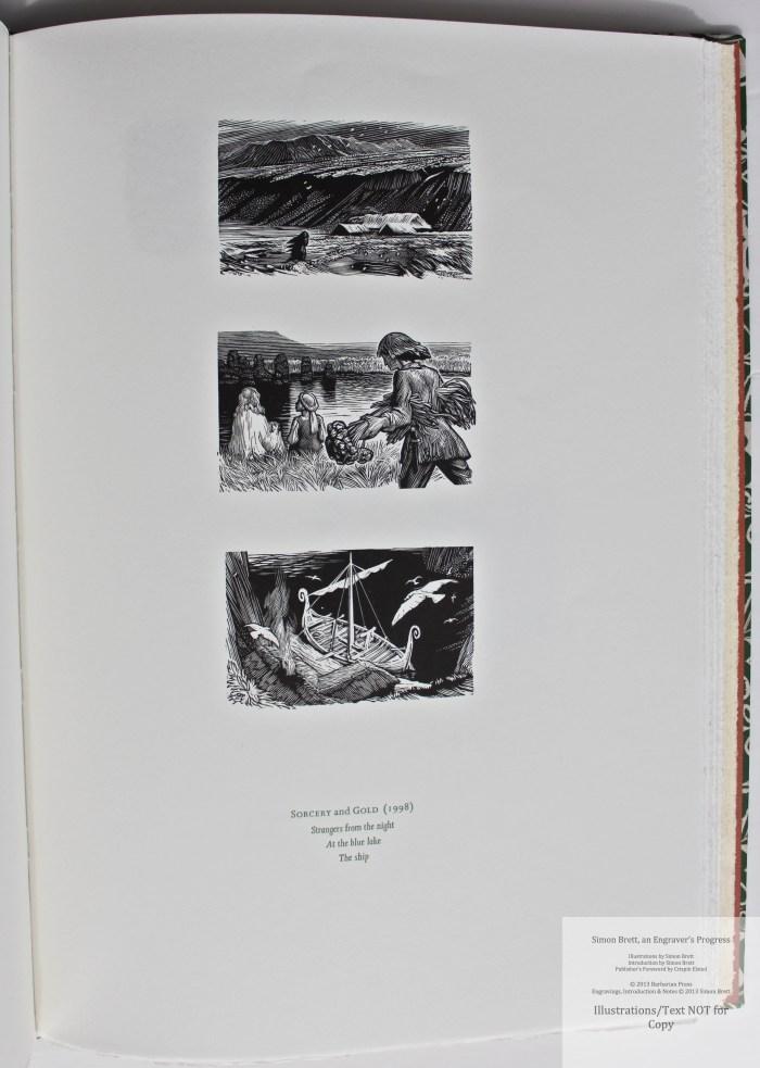 Simon Brett, an Engraver's Progress, Sample Illustration #14 (Grouping 5)