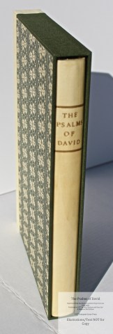 The Psalms of David, Rampant Lions Press, Book in Custom Slipcase