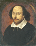 William Shakespeare (This image is in the public domain; PD-ART)