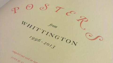 Posters from the Whittington Press 1996-2012