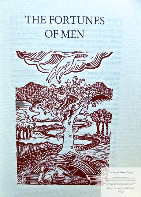 The Anglo-Saxon Elegies, The Folio Society, Sample Illustration #5