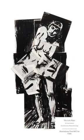 Arion Press, The Lulu Plays, William Kentridge Illustration Sample #1