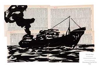 Arion Press, The Lulu Plays, William Kentridge Illustration Sample #2