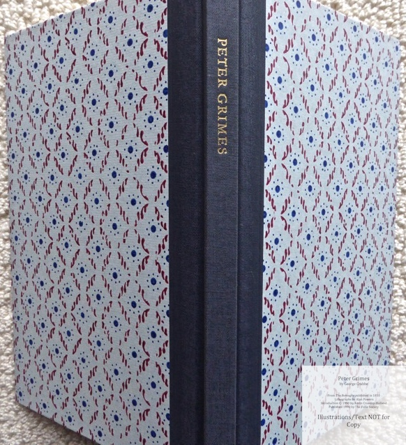 Peter Grimes, The Folio Society, Spine and Covers