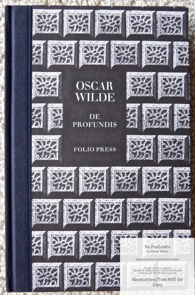 De Profundis, The Folio Society, Cover