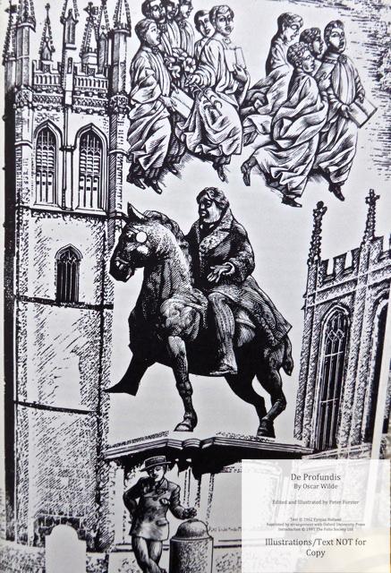 De Profundis, The Folio Society, Sample Illustration #3