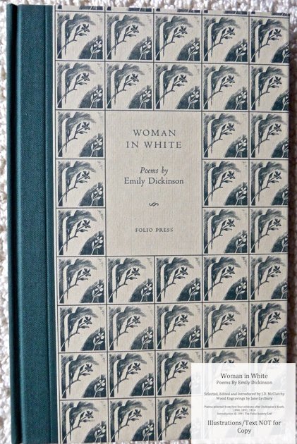 Woman In White, Poems by Emily Dickinson, The Folio Society, Cover
