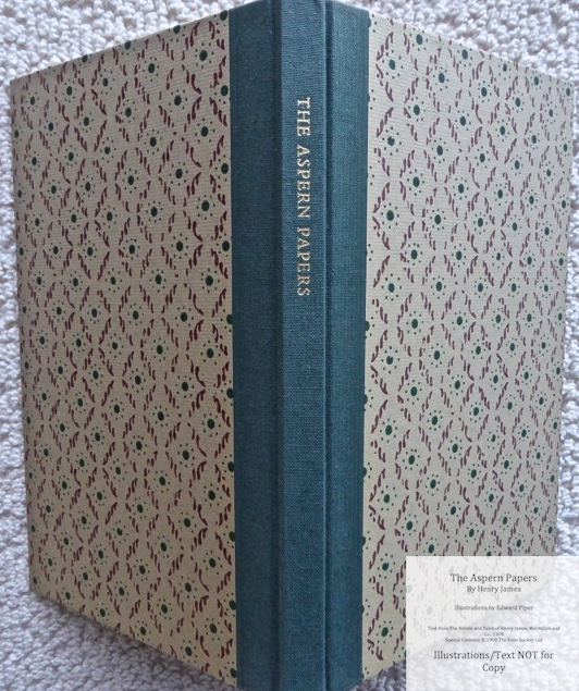 The Aspern Papers, The Folio Society, Spine and Covers