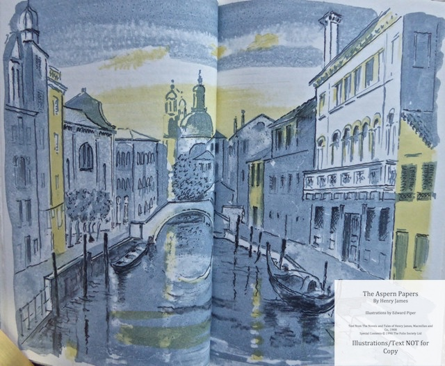 The Aspern Papers, The Folio Society, Sample Illustration #1