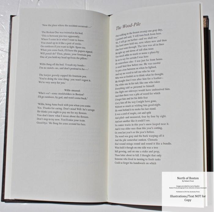 North of Boston, Ascensius Press , Sample Text #6