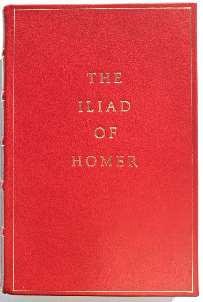 The Iliad, Limited Editions Club, Front Cover (custom)
