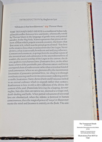 The Transposed Heads, The Allen Press, Sample Text #1