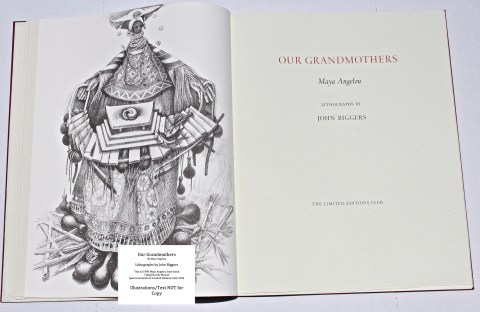 Our Grandmothers, Limited Editions Club, Frontispiece and Title Page