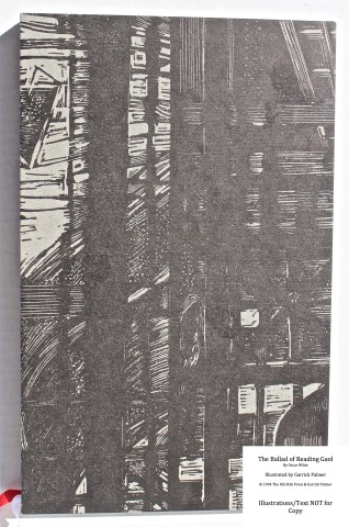 The Ballad of Reading Gaol, The Old Stile Press, Slipcase