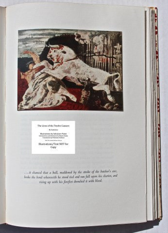 The Lives Of The Twelve Caesars, Limited Editions Club, Sample Illustration #9