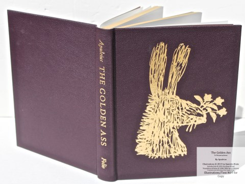 The Golden Ass, The Folio Society, Covers and Spine