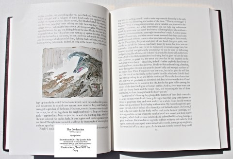 The Golden Ass, The Folio Society, Sample Page #4 (Introduction)