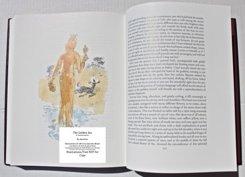 The Golden Ass, The Folio Society, Sample Illustration #9 with Text